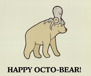 october, bear, and funny image