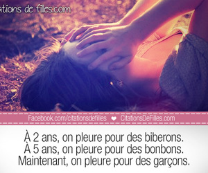 garcon, rupture, and proverbe image