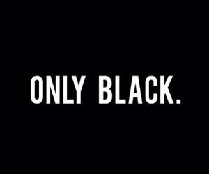 black, only, and grunge image