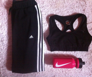 adidas, fit, and healthy image