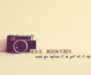 camera, life, and moment image