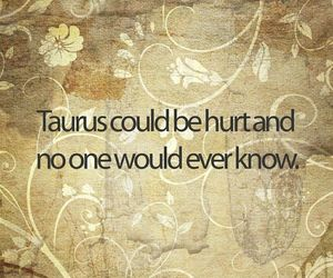 quote, sign, and taurus image