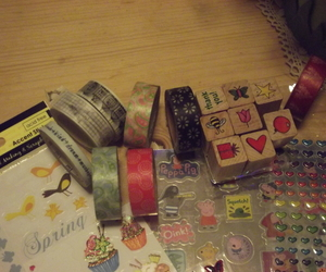 washi tape and stamp sets image