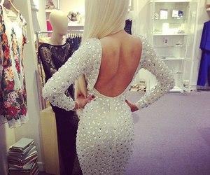blonde, lightbrown, and diamonds image