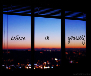 believe, yourself, and quote image
