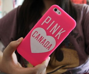canada, pink, and girl image