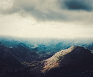 mountain, cloud, and landscape image