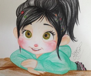 colour, vanellope, and cute image