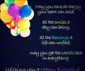 birthday and message image
