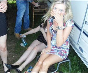 drunk, girl, and summer image