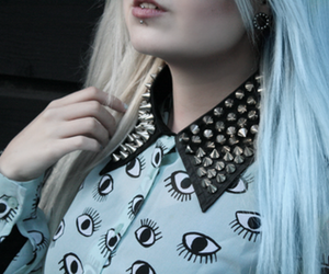 style, pastel goth, and hair image