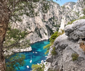 provence cassis calanques image