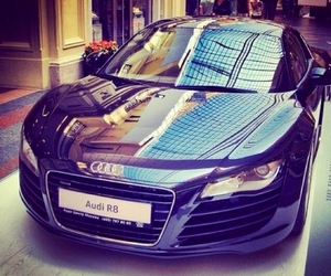 audi, car, and r8 image