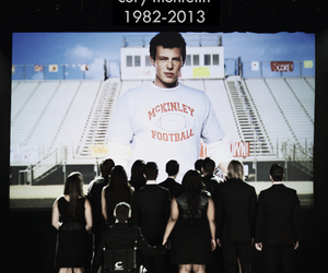 glee, cory monteith, and cory image