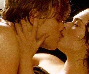 Leonardo di Caprio, romantic, and titanic image