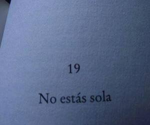 book, frases, and alone image