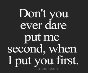 dare, quotes, and love image