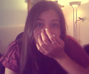 Bright Eyes, girl, and webcam image