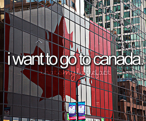 canada, Dream, and travel image