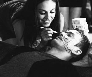 love, justin timberlake, and Mila Kunis image