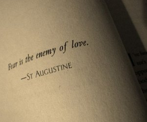 fear, love, and enemy image