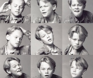 leonardo dicaprio, boy, and young image