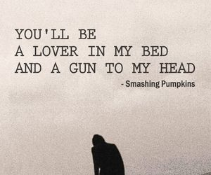 quote, love, and gun image