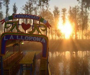 dia de muertos, mexico, and xochimilco image