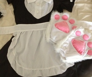 cat, costume, and paws image