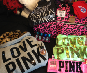 pink, love pink, and fashion image