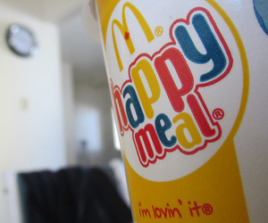 drink, McDonalds, and happy meal image