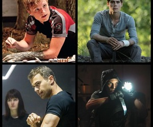 four, jace, and the hunger games image