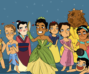 artwork, disney prince, and o.o wierdly eye catching image