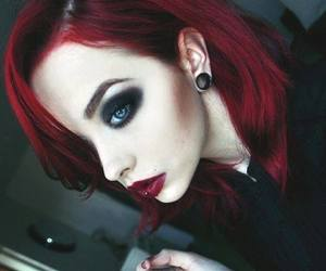 girl, makeup, and alternative image