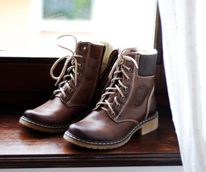 boots, brown, and clothes image