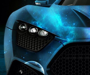 blue, luxury, and car image