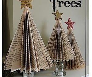 book, christmas, and trees image