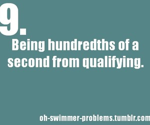 swimmer, oh-swimmer-problems, and me for regionals image
