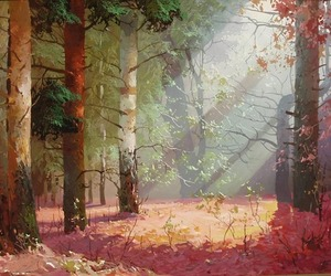 art and forest image
