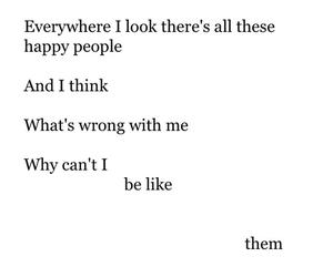 sad, quotes, and happy image