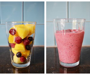 fruit, smoothie, and food image