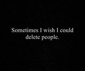 quotes, people, and delete image