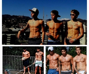 Hot, sixpack, and sun image