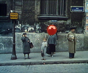 boy, balloon, and french image