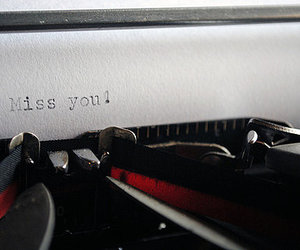 text, typography, and type writer image