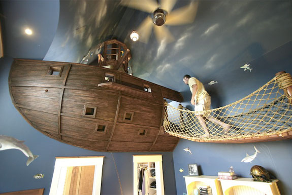 Cool Interior Design Pirate Themed Bedroom Spot Cool