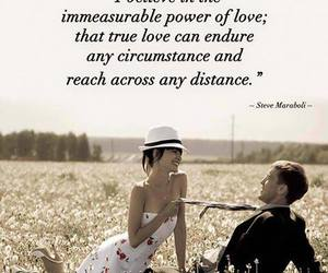 distance, power, and love image