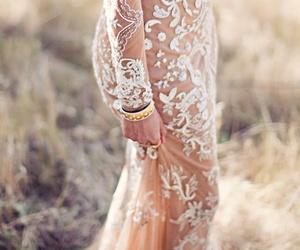 classy, dress, and hijab image