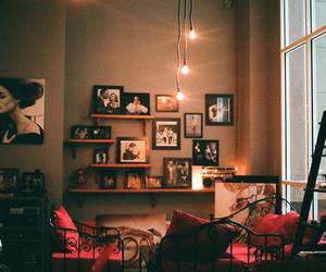 room, light, and vintage image