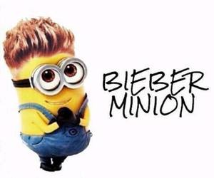 minions, justin bieber, and cute image
